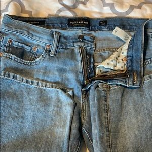 Men's Lucky Brand 221 Straight Jeans
